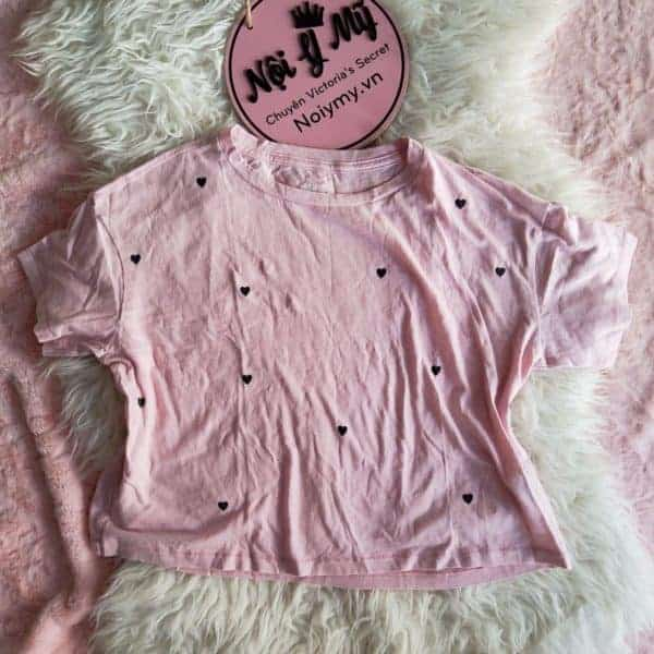 áo thun pink